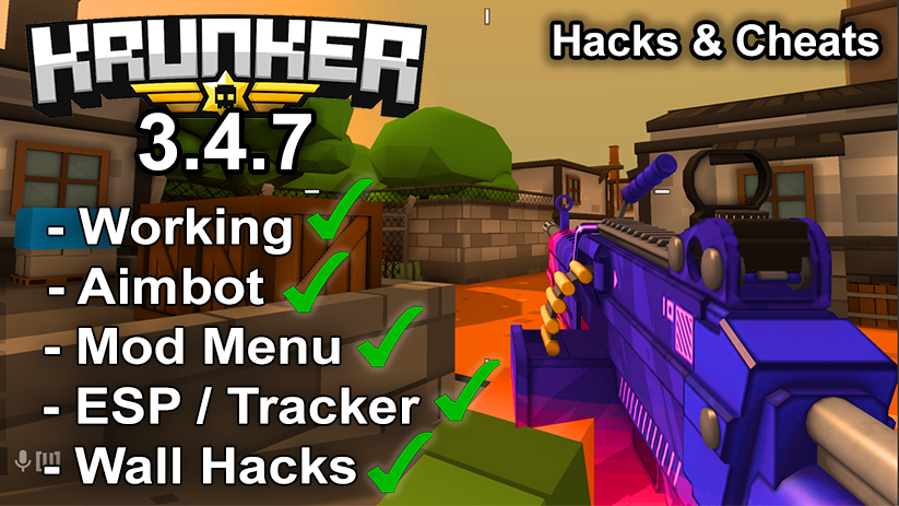 Krunker.io Hacks & Cheats 3.4.7
