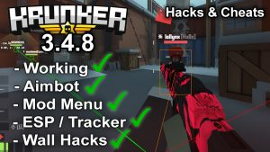 Krunker.io Hacks & Cheats 3.4.8