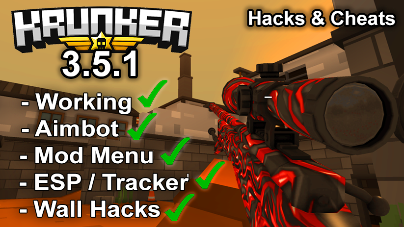 Krunker.io Hacks & Cheats 3.5.1