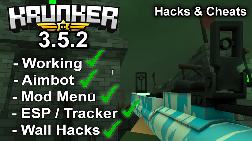 Krunker.io Hacks & Cheats 3.5.2