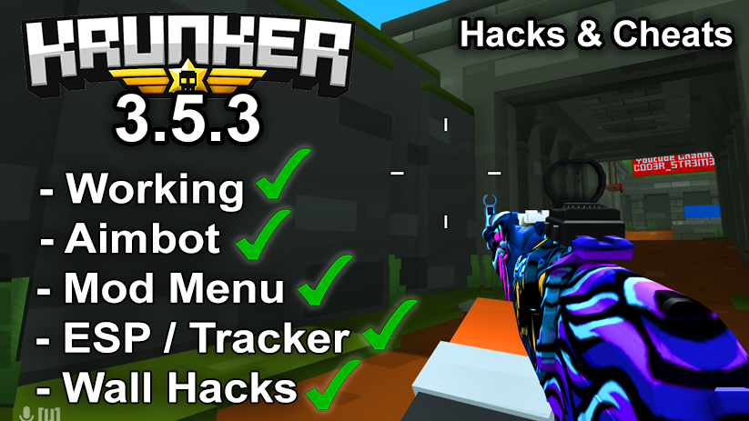 Krunker.io Hacks & Cheats 3.5.3