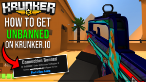 Krunker.io How to get unbanned