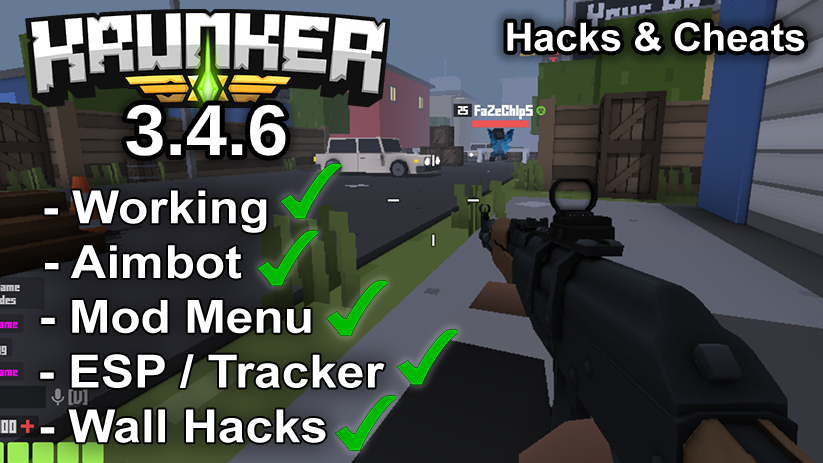 Krunker.io Hacks & Cheats 3.4.6