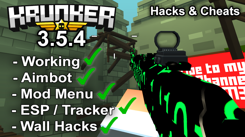 Krunker.io Hacks & Cheats 3.5.4