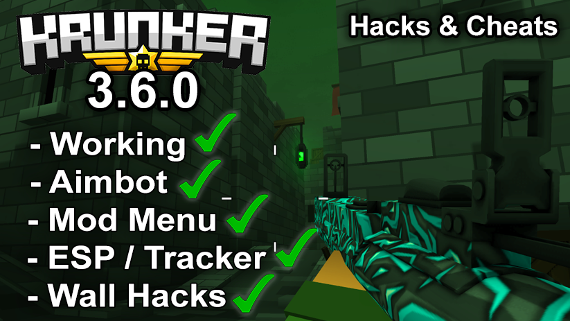 Krunker.io Hacks & Cheats 3.6.0