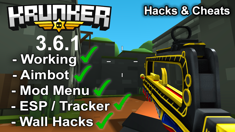 Krunker.io Hacks & Cheats 3.6.1