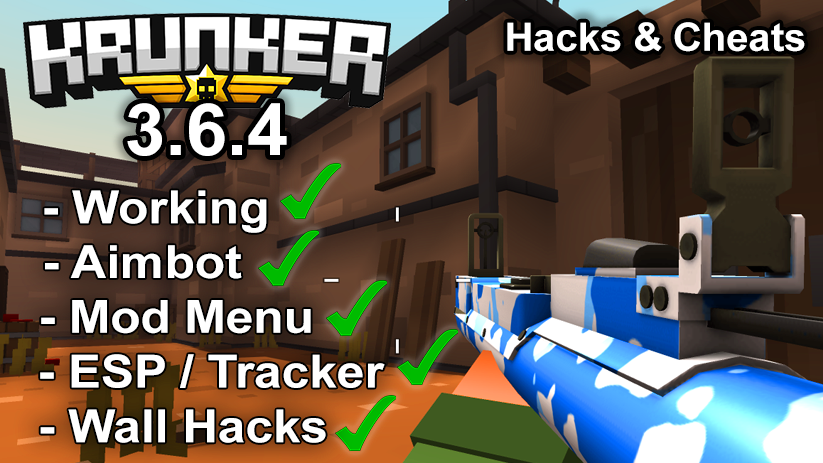 Krunker.io Hacks & Cheats 3.6.4