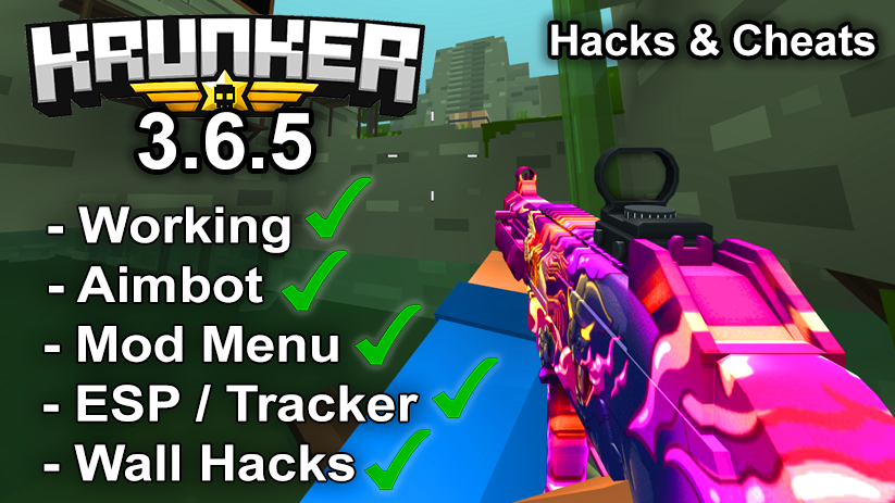 Krunker.io Hacks & Cheats 3.6.5