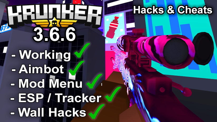 Krunker.io Hacks & Cheats 3.6.6