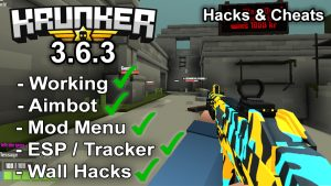 Krunker.io Hacks & Cheats 3.6.3