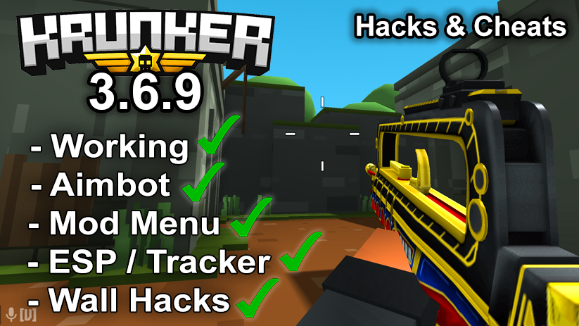 Krunker.io Hacks & Cheats 3.6.9