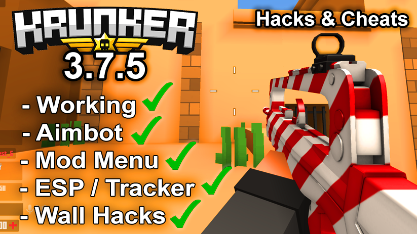 Krunker.io Hacks & Cheats 3.7.5