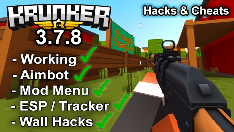 Krunker.io Hacks & Cheats 3.7.8