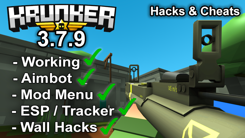 Krunker.io Hacks & Cheats 3.7.9