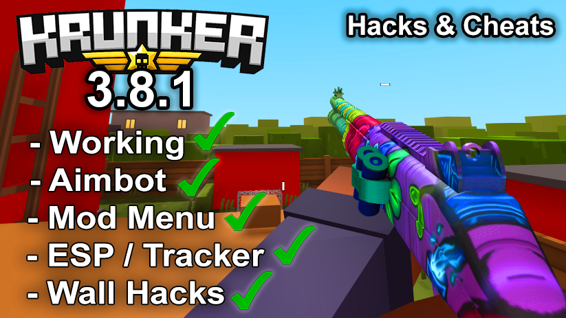 Krunker.io Hacks & Cheats 3.8.1