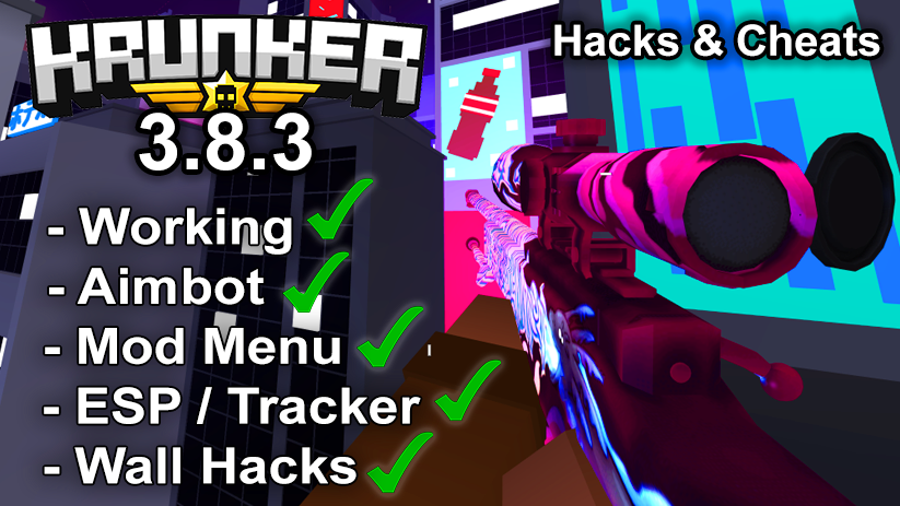Krunker.io Hacks & Cheats 3.8.3