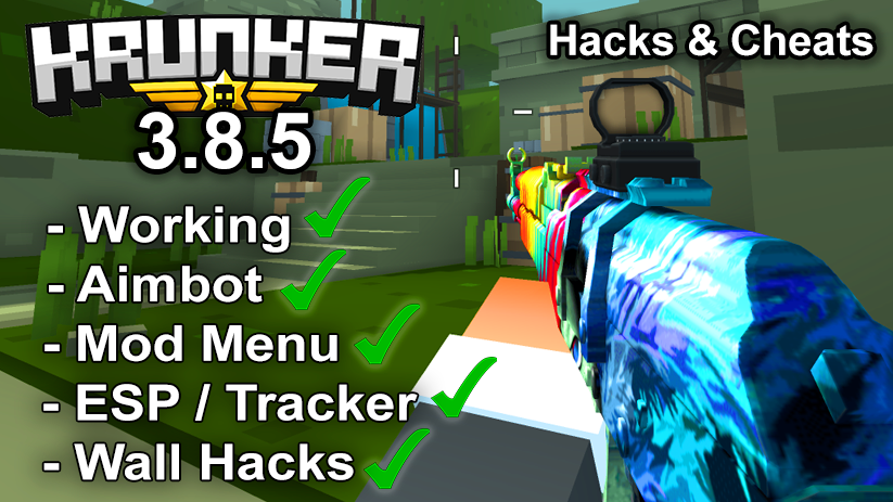 Krunker.io Hacks & Cheats 3.8.5
