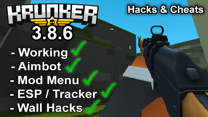 Krunker.io Hacks & Cheats 3.8.6