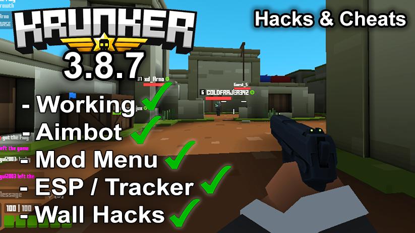 Krunker.io Hacks & Cheats 3.8.7