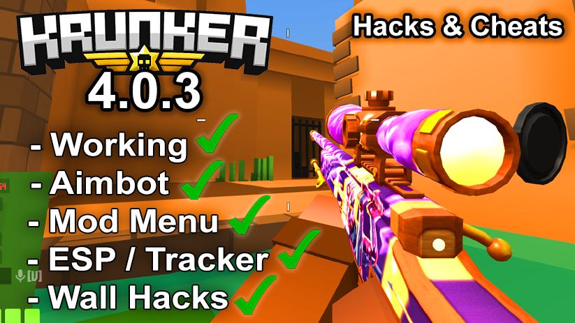 Krunker.io Hacks & Cheats 4.0.3