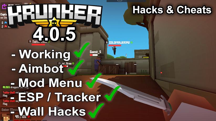 Krunker.io Hacks & Cheats 4.0.5