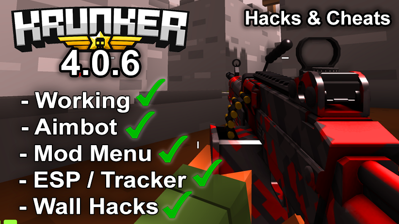 Krunker.io Hacks & Cheats 4.0.6