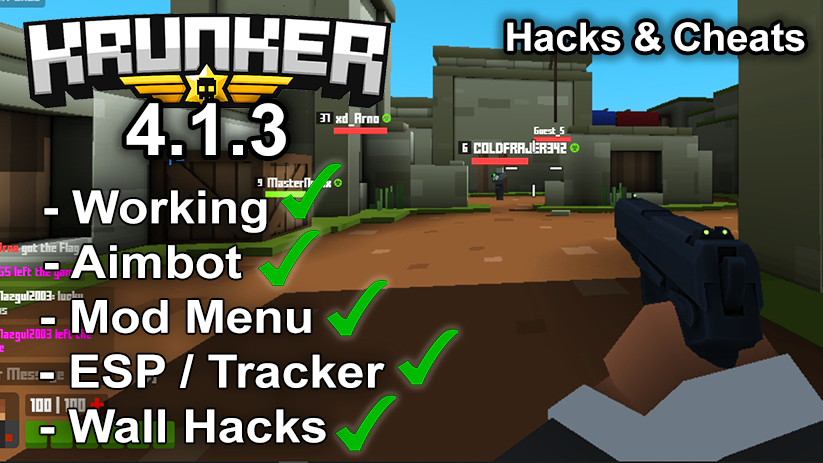 Krunker.io Hacks & Cheats 4.1.3