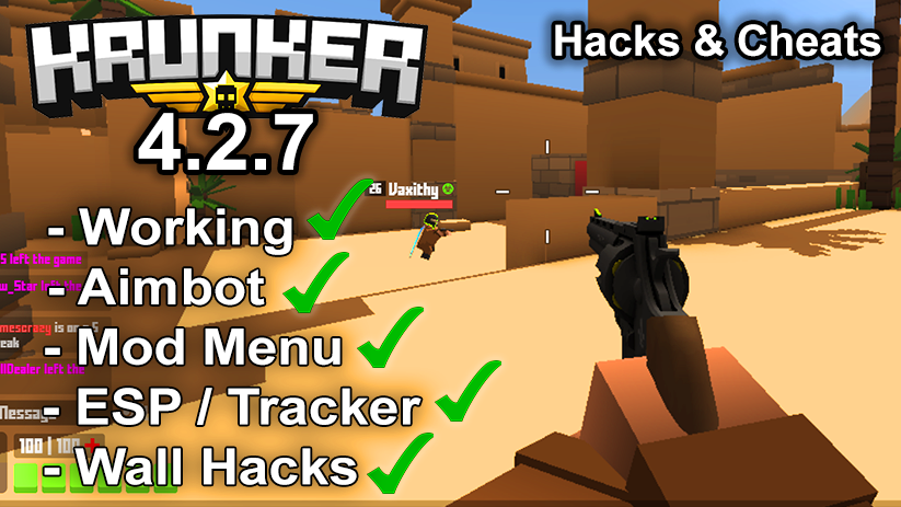 Krunker.io Hacks & Cheats 4.2.7