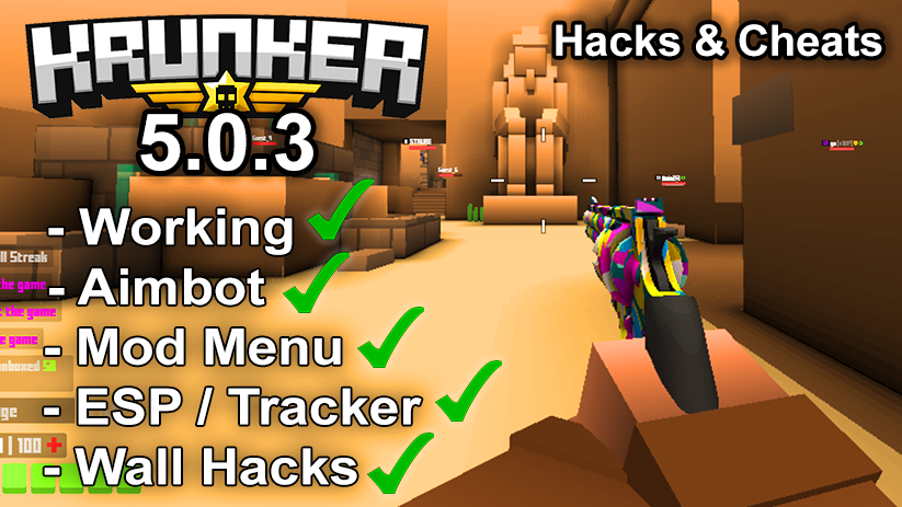 Krunker.io Hacks & Cheats 5.0.3