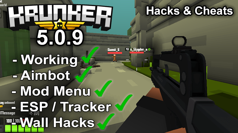 Krunker.io Hacks & Cheats 5.0.9